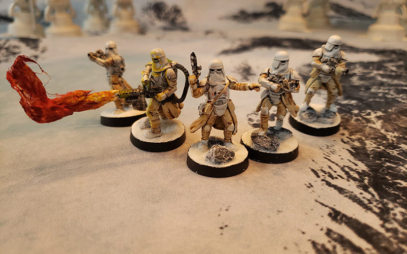 Getting minis table ready for Star Wars: Legion Pt 1 7