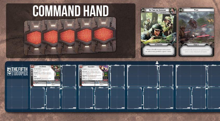 star wars legion command hand