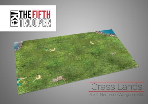 Grass Lands - 6'x4' Gaming Mat with Carrying Bag 3
