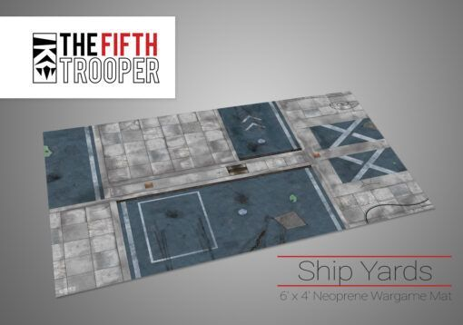 Ship Yards - 6'x4' Gaming Mat with Carrying Bag 3