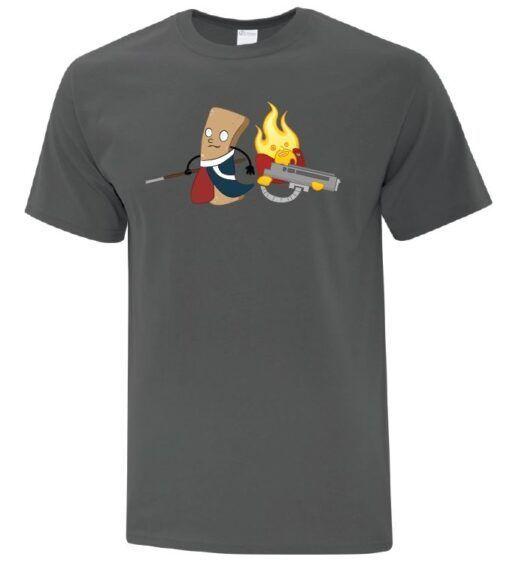 Churro and Blaze- T-Shirt 3