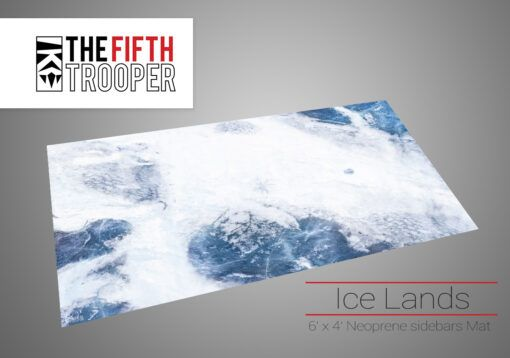 Ice Lands - 6'x4' Gaming Mat with Carrying Bag 3