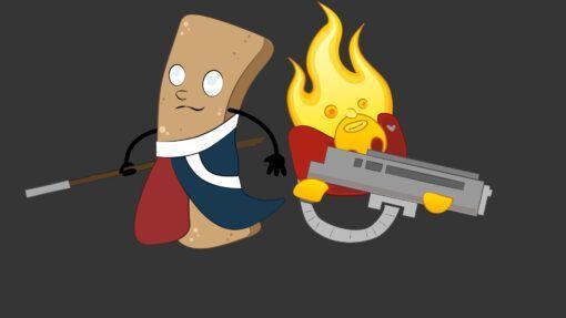 Churro and Blaze- T-Shirt 2