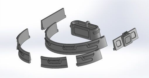 DWG City of Clouds Accessories Pack 3