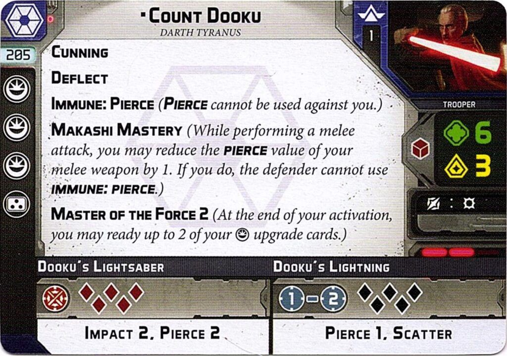 Count Dooku Unit Guide 2