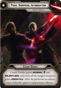 Count Dooku Unit Guide 3