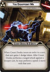 Count Dooku Unit Guide 5