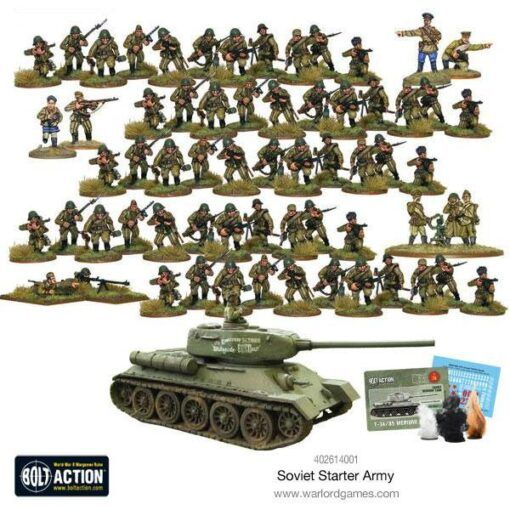 Bolt Action Soviet Army