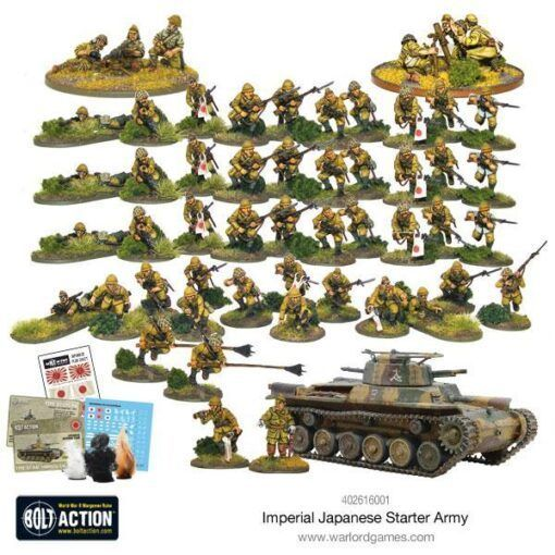 Bolt Action Japanese Army
