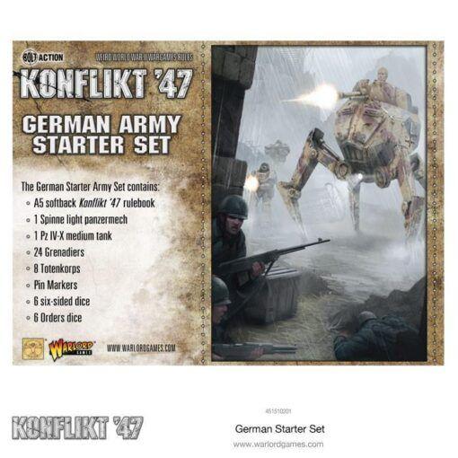 German Konflikt '47 Starter Set 3