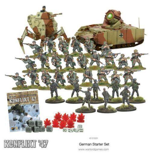 German Konflikt '47 Starter Set 4