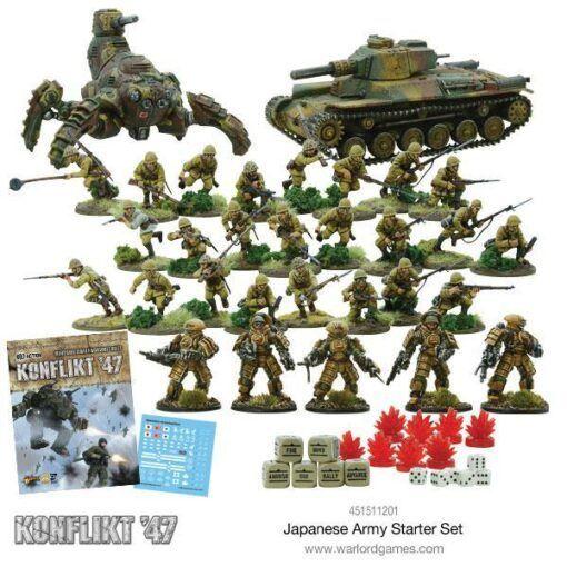 Japanese Konflikt '47 Starter Set 4
