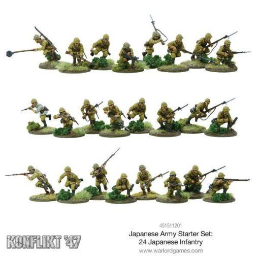 Japanese Konflikt '47 Starter Set 7