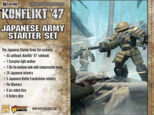 Japanese Konflikt '47 Starter Set 3
