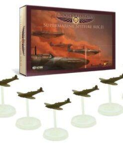 British Spitfire 6 Plane Squadron 7