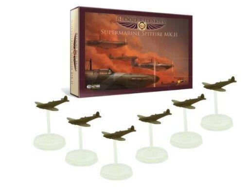 British Spitfire 6 Plane Squadron 5