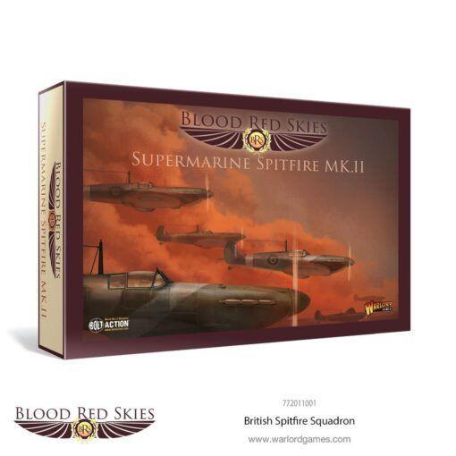 British Spitfire 6 Plane Squadron 3