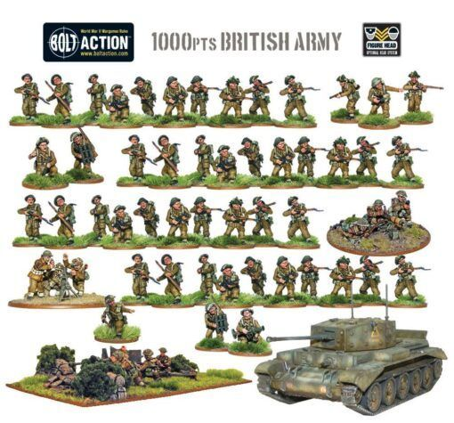 British Army - Starter Army 1000 pts 1