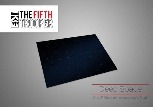 Deep Space - 3'x 3′ Gaming Mat with Carrying Bag 1
