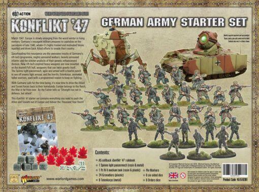 German Konflikt '47 Starter Set 5