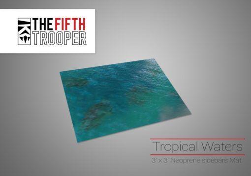 Tropical Water Gaming Mat