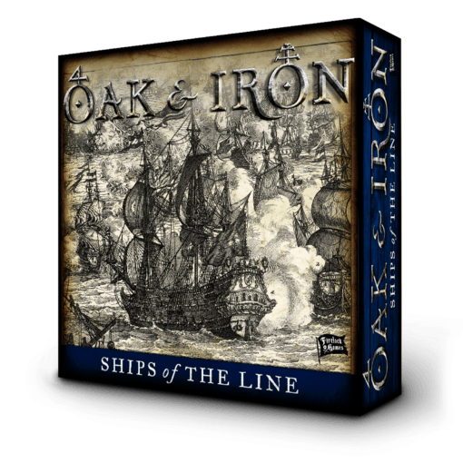 Ships of the Line Expansion - Oak & Iron 3