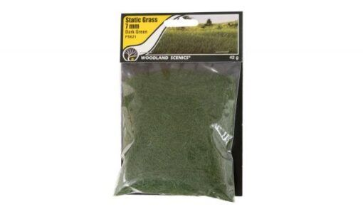 Woodland Scenics: 7mm Static Grass - Dark Green 3