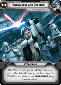 Just one of Kenobi's three flexible cards