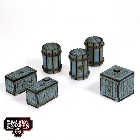 Red Oak Crates, Fences and Barrels 6