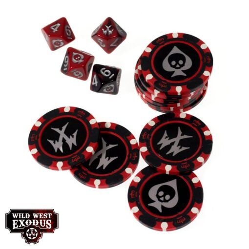 Fortune Chips and Dice Set 3