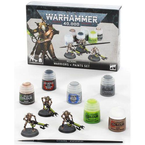 Warhammer 40k: Necrons Paint Set (Necron Warriors) 3