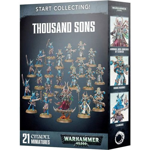 Warhammer 40k: Start Collecting - Thousand Sons 3