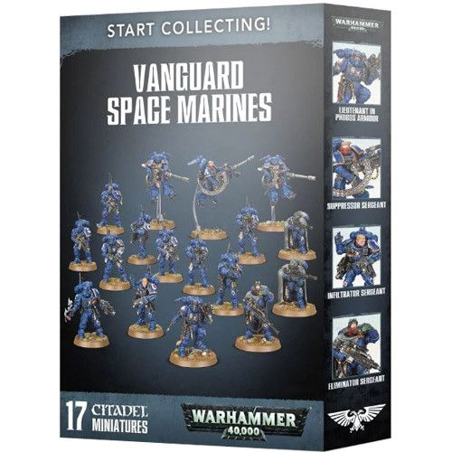 Warhammer 40k: Start Collecting - Vanguard Space Marines 3