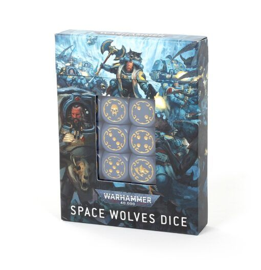 Space Wolves Dice Set 3