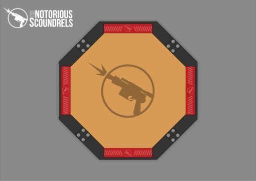 Laser Cut Dice Tray - The Notorious Scoundrels 4