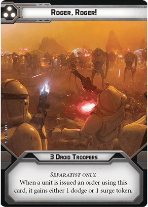 Separatists Specialist Pack Unit Guide 5