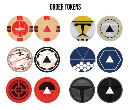 Order Tokens - Limited Art Edition 2